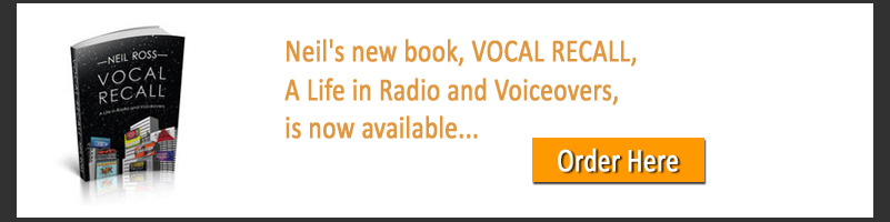 Vocal Recall, A Life in Radio and Voiceovers